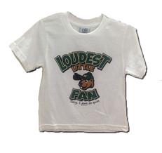 Toddler Loudest Little Fan T-shirt